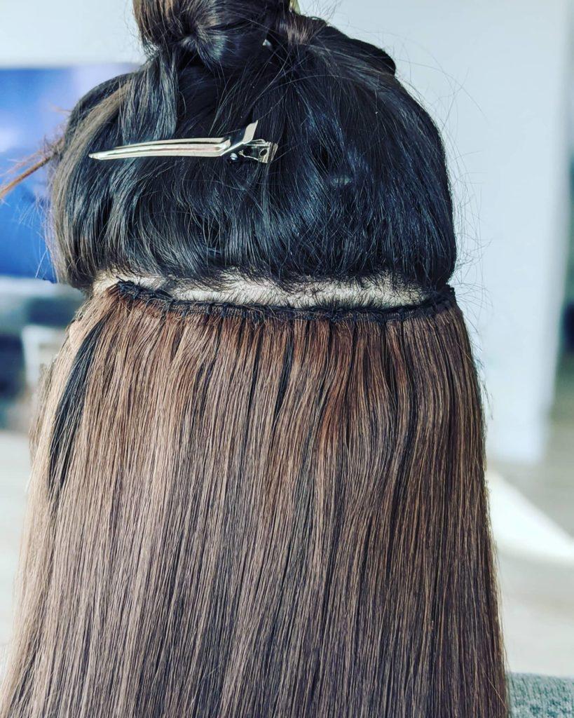 Sew-In hair extension method